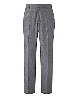 W&B London Slim Fit Check Trousers