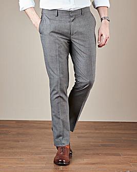 W&B London Reg Fit Check Trousers
