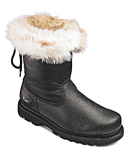 Cat Warm Lined Boots D Fit