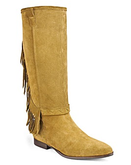 Bronx Dallan Knee HIgh Boots Standard D Fit