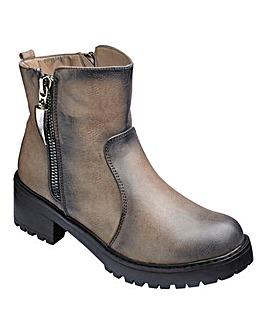 London Rebel Ankle Boots Standard D Fit