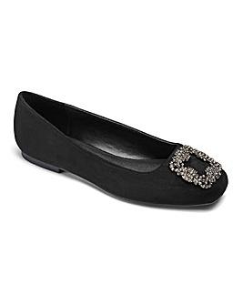 Sole Diva Ballerina Shoes E Fit