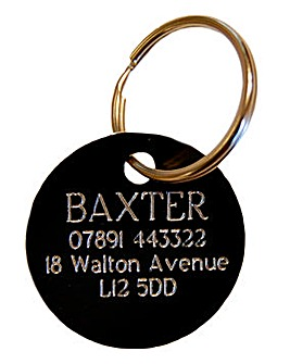 Personalised Pet Collar Engraved ID Tag