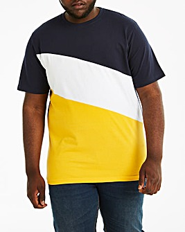 Colour Block T-Shirt L