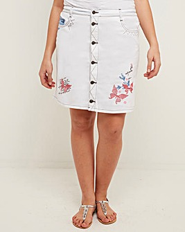 Joe Browns Applique Skirt