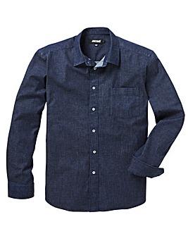 Stretch Denim L/S Shirt L