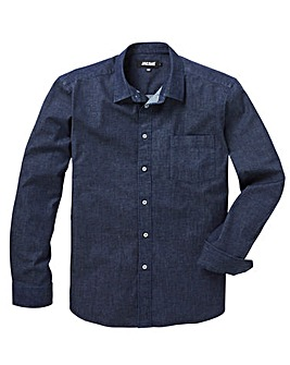 Stretch Denim L/S Shirt R