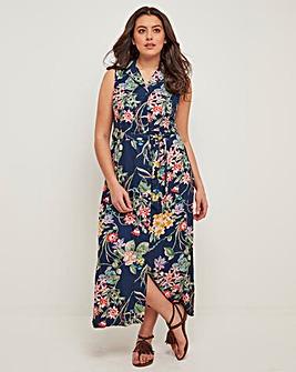 Joe Browns Tropical Floral Shirt Dress