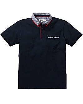 Trim Detail Navy Polo L