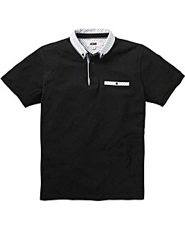 Trim Detail Black Polo L