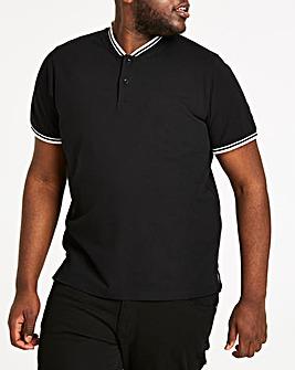 Baseball Collar Black Polo R
