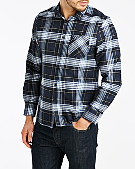 1d5063031 Flannel Check L S Shirt L. Long Length