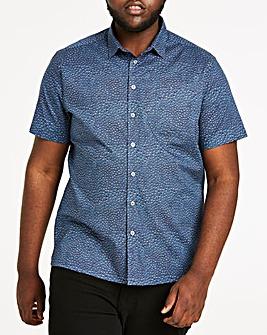 Ditsy Print S/S Shirt R