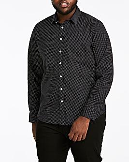 Polka Dot Print L/S Shirt R