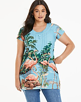 Joe Browns Wild Flamingo Tunic