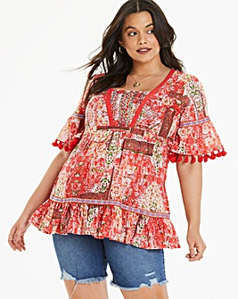 Joe Browns Printed Aztec Blouse
