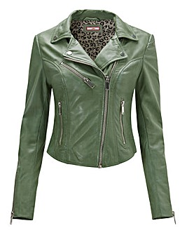 Joe Browns Lovely Biker Leather Jacket