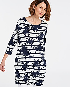Stripe Side Pocket Tunic