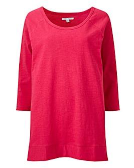 Pink 3/4 Length Sleeve