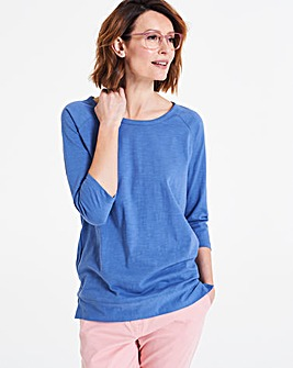 Linen 3/4 Sleeve Top
