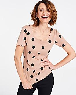 Spot Value Cotton Short Sleeve Top