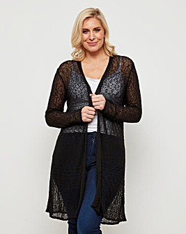 Joe Browns Popcorn Longline Cardigan