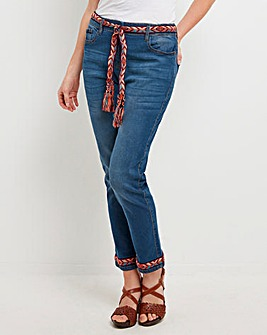 Joe Browns Folk Ankle Embroidered Jeans