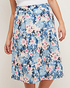 Joe Browns Floral Box Pleat Prom Skirt