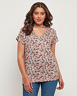 Joe Browns Butterfly Jersey Top