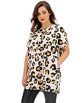 Short Sleeve Side Pocket Tunic