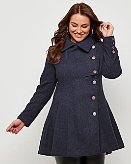 Joe Browns No Ordinary Herringbone Coat
