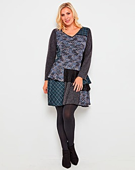Joe Brown Stunning Mix It Up Knit Tunic