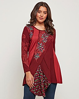 Joe Browns Creative Applique Tunic