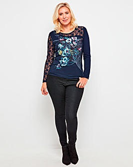 Joe Browns Manhatten Lace Sleeve Top