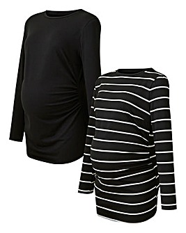 Maternity 2 Pack Long Sleeve Top