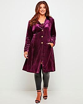 Joe Browns Velvet Coat