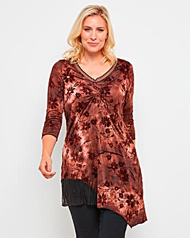 Joe Browns Flocked Tunic