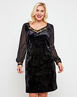 Joe Browns Regal Velvet Tunic