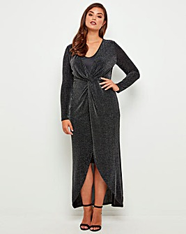 Joe Browns Elegant Glitter Maxi Dress
