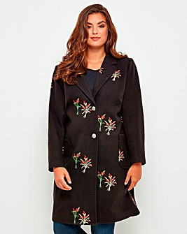 Joe Brown Embroidered Coat