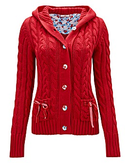 Joe Browns Chunky Cable Cardigan