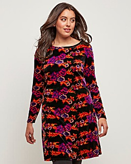 Joe Browns Velour Print Tunic