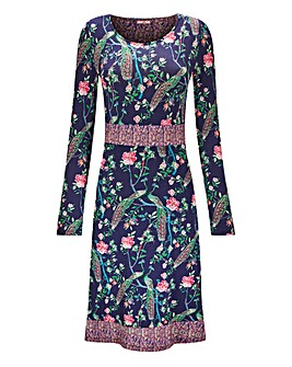 Joe Browns Floral Peacock Dress