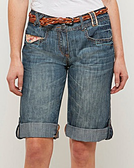 Joe Browns Applique Boyfriend Shorts