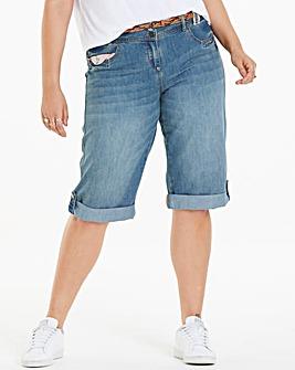 Joe Browns Applique Boyfriend Shorts