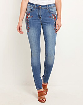 Joe Browns Floral Embroidered Jeans