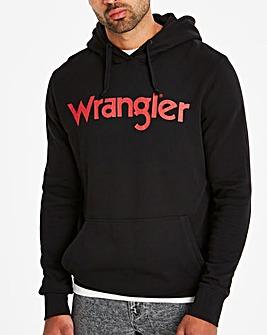 Wrangler Black Logo Hoody