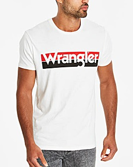 Wrangler Off White American T-Shirt