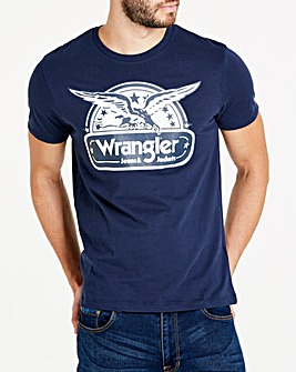 Wrangler Navy Eagle T-Shirt