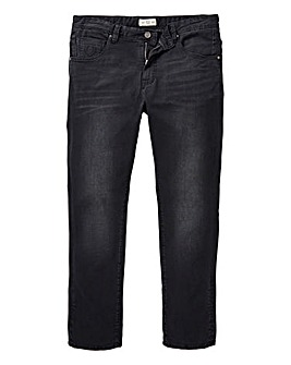 884 Police Black Crane Slim Jean 31 In
